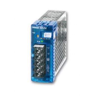 Power Supply 24V, 4.5A, Covered DIN Mnt