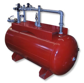 High Pressure Red Tank