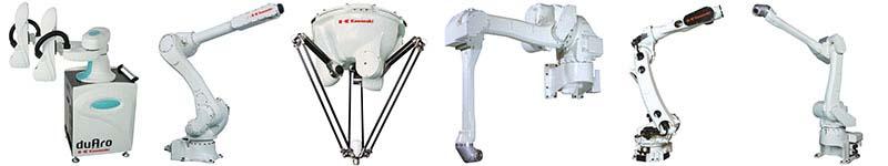 Kawasaki Robot Product Offering